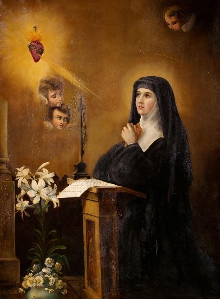 Santa Margarita María de Alacoque (7)